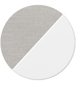 titanio/diffusore bianco