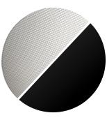black/prismatic screen
