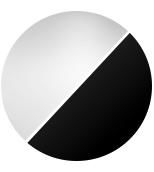Schwarz-Streuscheibe Kristall