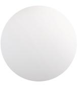 Weiß getöntes Glas