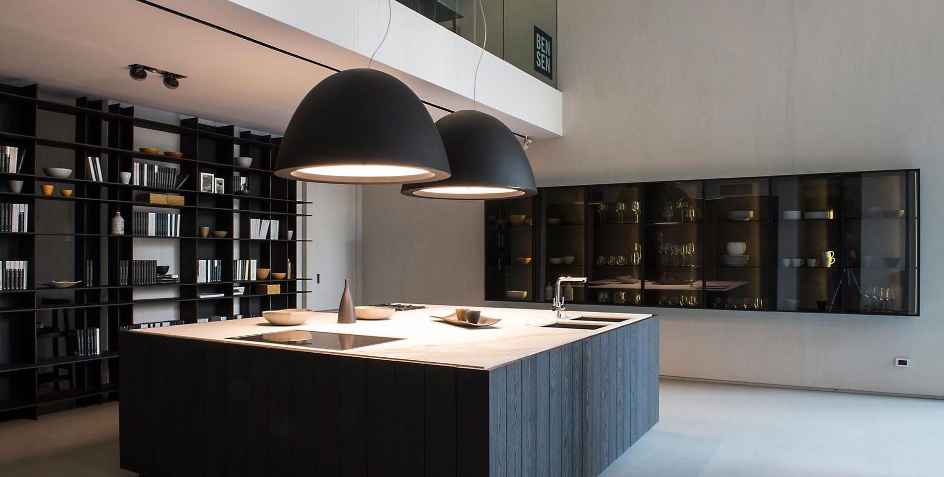 Illuminazione Piano Lavoro Cucina come illuminare la cucina con le nostre lampade - panzeri